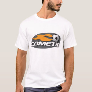 Comets Black Fitted Tee