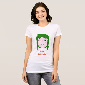 Comfort-able one t-shirt I am Aphrodite