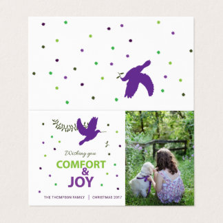 Comfort and Joy Holidayz Card