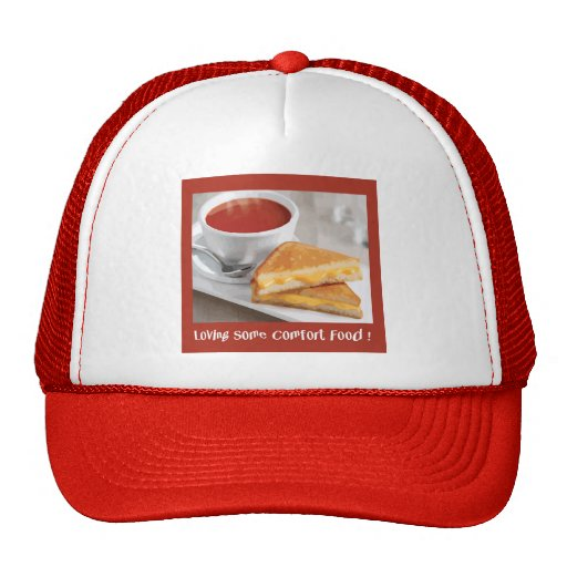 Comfort Food Cap Mesh Hat