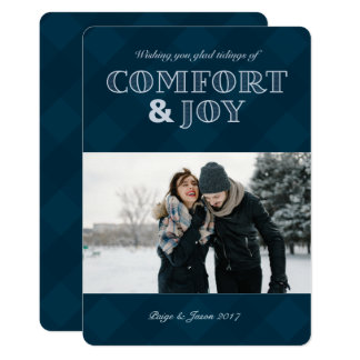 Comfort & Joy Holiday Photo Card