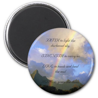 Comfort & Loss 2 Inch Round Magnet