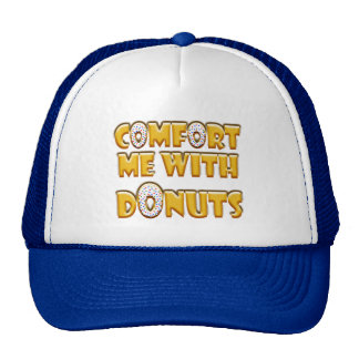 Comfort Me With Donuts Mesh Hat