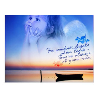 comfort of angels postcard