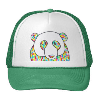 Comfort Panda Snapback By Megaflora Trucker Hat