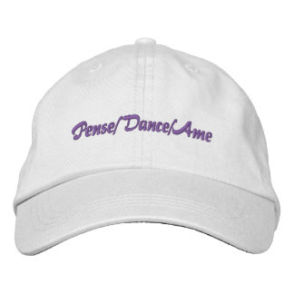 Comfortable and pretty embroidered hat