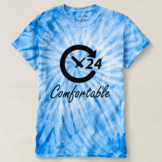 Comfortable Women's Cyclone Tie-Dye T-Shirt