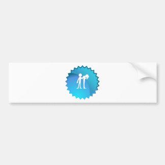 Comforting a Grieving Friend Bumper Sticker