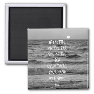 Comforting Bible Verse Quote Magnet