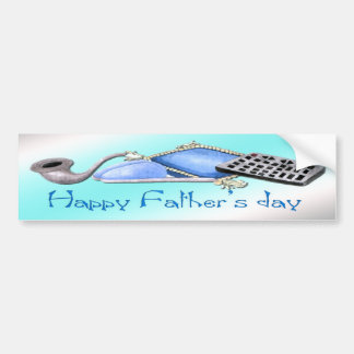 Comforts of Home - Happy Father's Day Bumper Stick Car Bumper Sticker