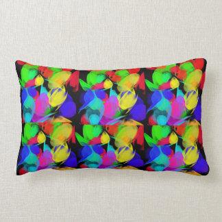 Comfy art lumbar pillow