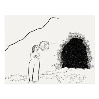 Comfy Cave Postcard