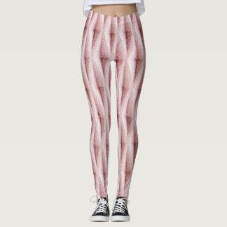 Comfy Hipster Legging Pink Knit