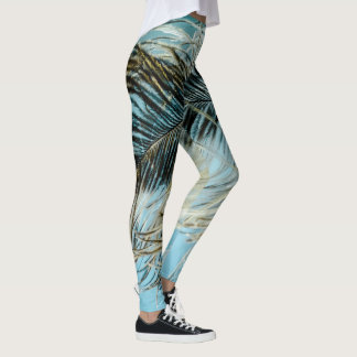 Comfy Hipster Leggings Feather