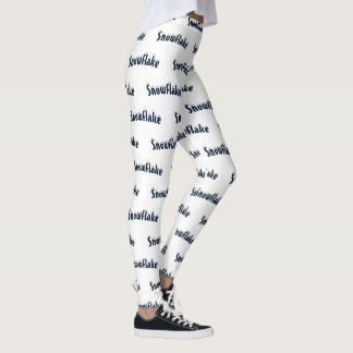 Comfy Hipster Leggings Snowflake leggings