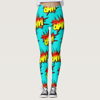 "Comic ""BAM"" / Leggings"
