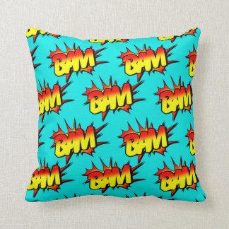 """Comic """"BAM"""" / Pillow"""