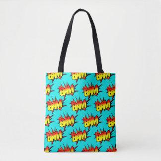 """Comic """"BAM"""" / Tote Bag"""