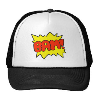 Comic 'Bam!' Trucker Hat