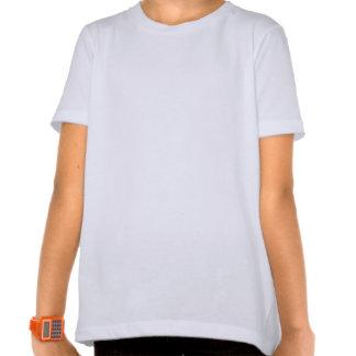 Comic Bear Summer Vacation Fun Girls Ringer T-Shir Shirt