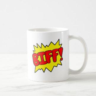Comic 'Biff!' Coffee Mug