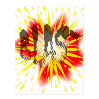 Comic Blast Postcard