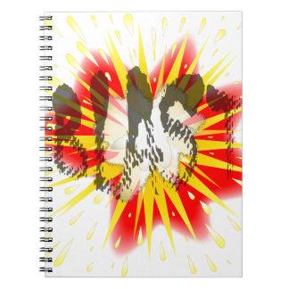 Comic Blast Spiral Notebook