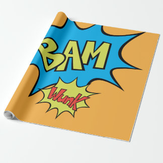 "Comic Book ""Bam"" Balloon"