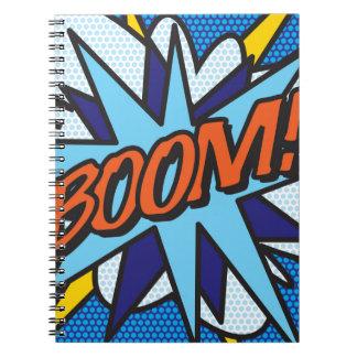 Comic Book BOOM! Notebook