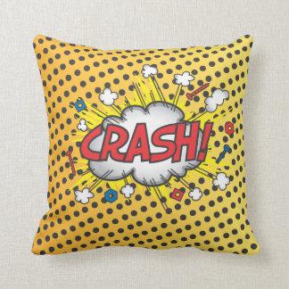 Comic Book Crash, Boom Pillow