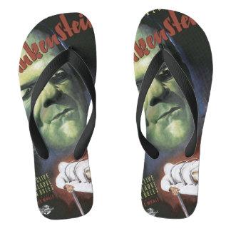 Comic book flip flops