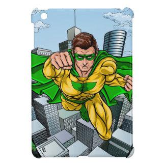 Comic Book Flying Superhero City iPad Mini Case