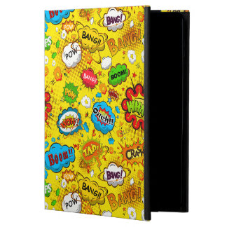 Comic Book iPad Air Case with No Kickstand