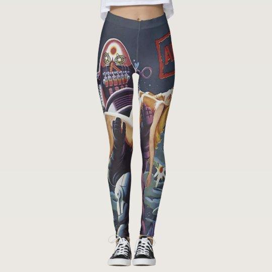 Comic book leggings