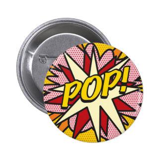 Comic Book POP! 2 Inch Round Button
