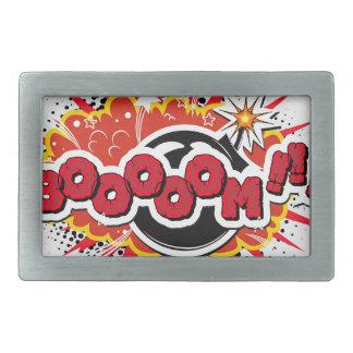 Comic Book Pop Art Boom Explosion Belt Buckles