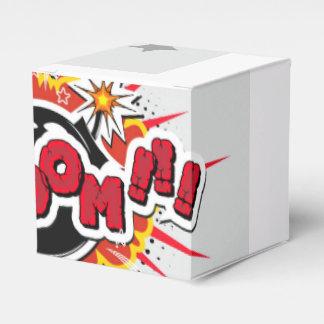 Comic Book Pop Art Boom Explosion Favor Box