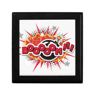 Comic Book Pop Art Boom Explosion Gift Box