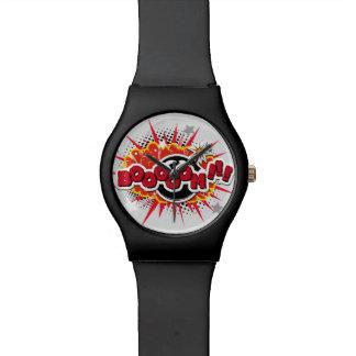 Comic Book Pop Art Boom Explosion Watch