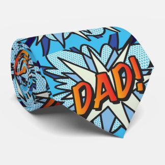 Comic Book Pop Art DAD Tie