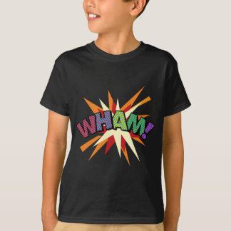 Comic Book Pop Art WHAM! T-Shirt
