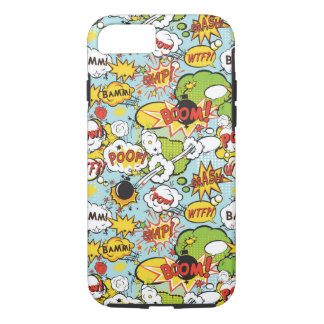 Comic Book sayings phone case