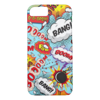 Comic Book Text & Word Bubbles iPhone 7 Case