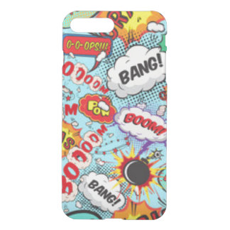 Comic Book Text & Word Bubbles iPhone 7 Plus Case