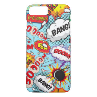 Comic Book Text & Word Bubbles iPhone 8 Plus/7 Plus Case