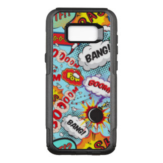 Comic Book Text & Word Bubbles OtterBox Commuter Samsung Galaxy S8+ Case