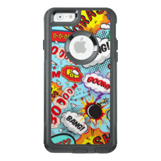 Comic Book Text & Word Bubbles OtterBox iPhone 6/6s Case