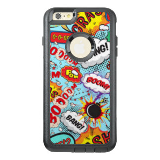 Comic Book Text & Word Bubbles OtterBox iPhone 6/6s Plus Case