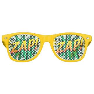 Comic Book ZAP! party sunglasses