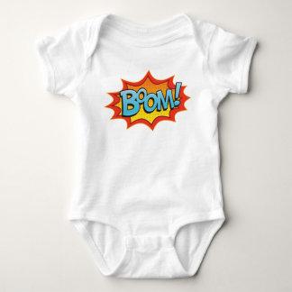 Comic Boom! Baby Bodysuit